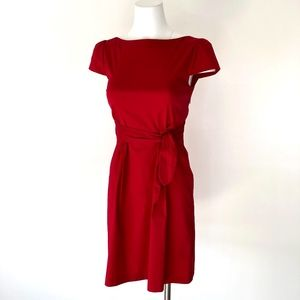 Theory | Candy Apple Red A-line Dress